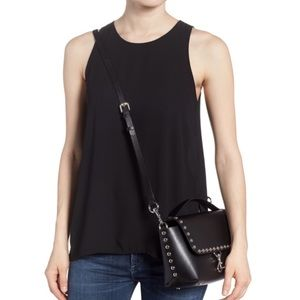 NWT Rebecca Minkoff Blythe Studded Leather Bag